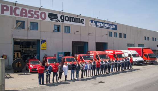 Team Picasso Gomme 2015